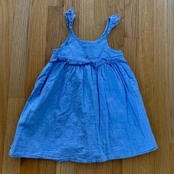 GAP chambray dress 3T